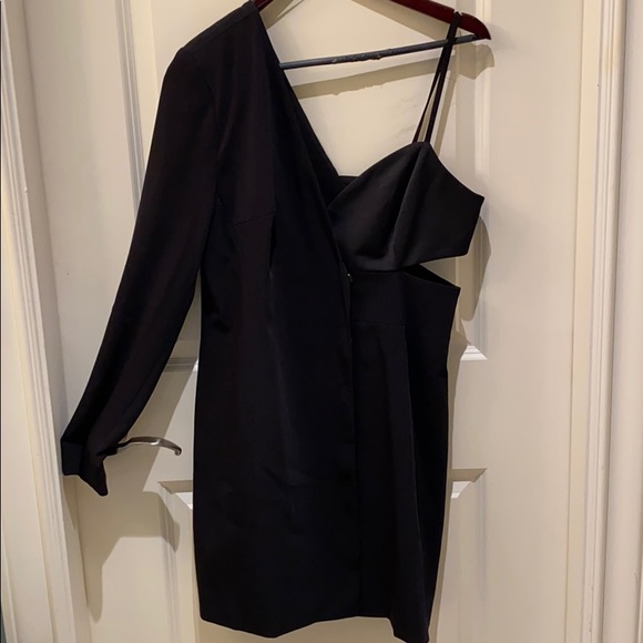 Topshop Blazer Dress with Cut-Out
